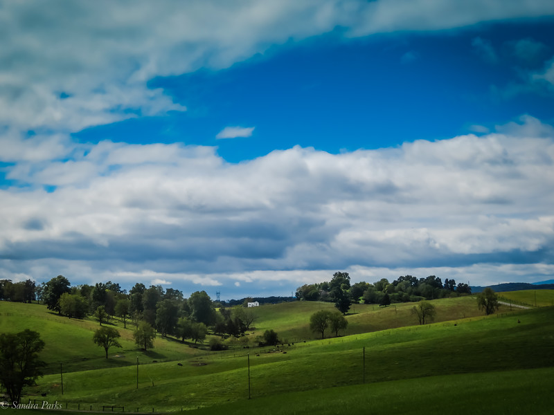 9-27-2020: Clouds clearing, RIdge ROad