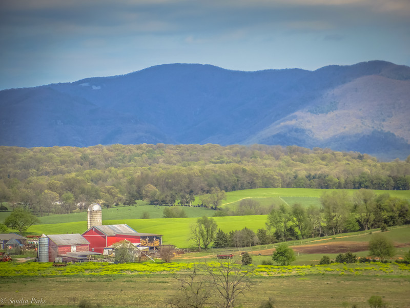 4-27-2020: Once a battlefield, in the shadow of the Blue Ridge