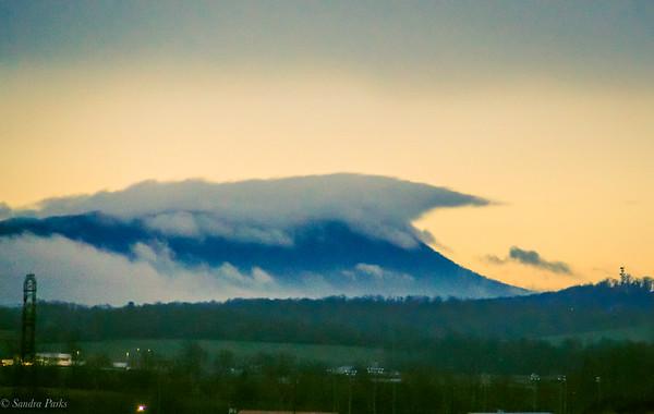 2-6-2020: Massanutten in the clouds