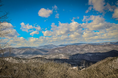 2-23-2021: High on a mountaintop, wind blowing free...