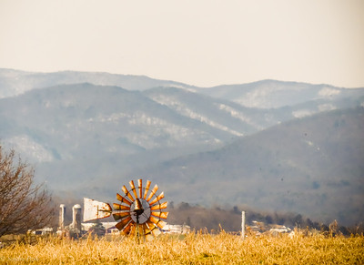 2-26-2021: There's still snow on the Alleghenies
