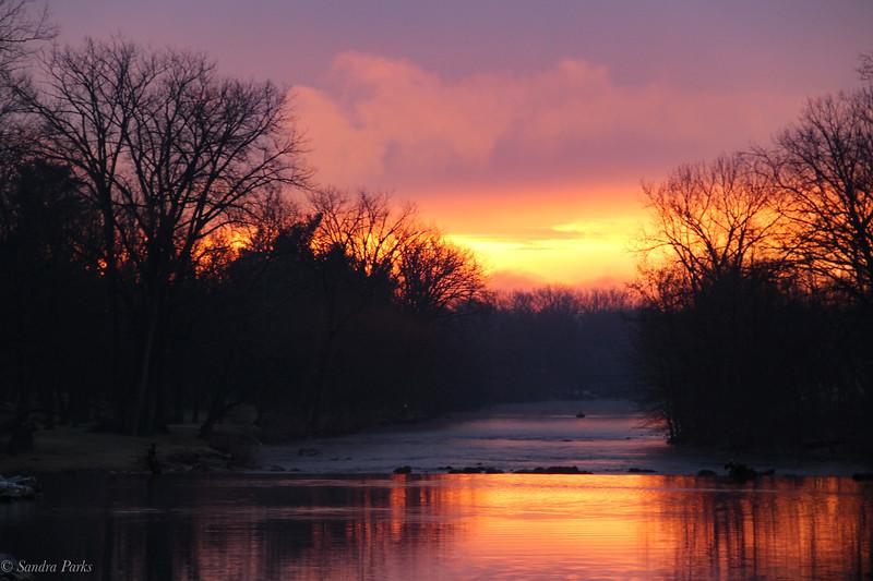 1-16-2021: It was a surprise sunrise.