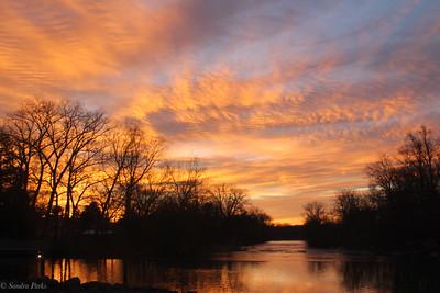 2-24-20210: A sunrise that truly felt like spring was near
