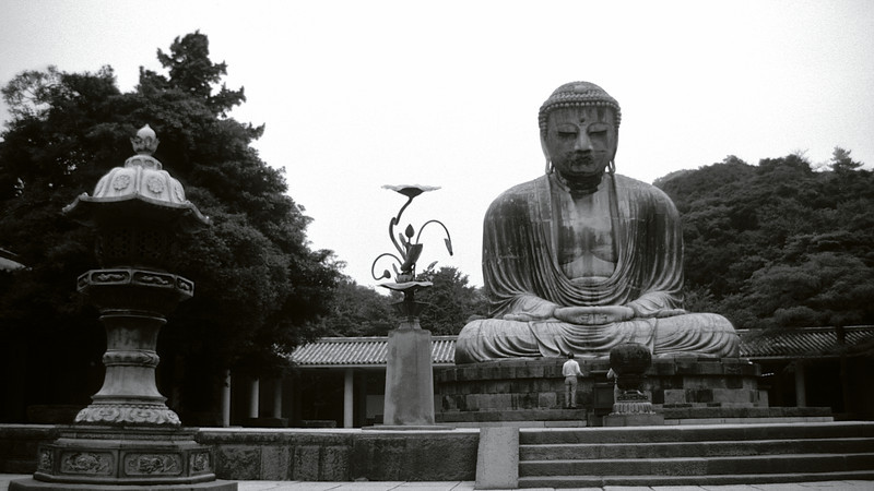 The Great Budha of Kamakura, Japan, Aug. 1993