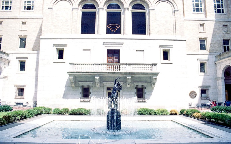 Boston Public Library - Courtyard