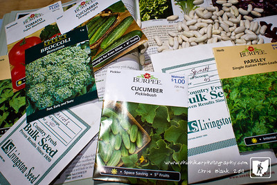 With a 70 degree day behind us it is time to start thinking about the garden.  Checking what seeds I have left over from last.  With a seed catalog in hand I have an idea of what seeds I need to order.