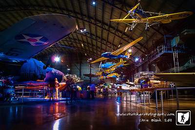 I went with Trevor and his class to the USAF Museum today.  Luckily this is a tripod friendly museum and it allowed for some amazing photography.  Look for more tomorrow on the blog.