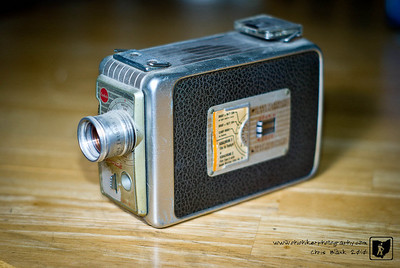 With HD video and now 3D video recorders, I often look at my grandfather's wind up 8mm movie camera.  State of the art at the time.  No batteries required.  Just wind the key.