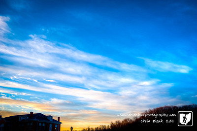 This moring was another amazing sunrise.  After pulling in to work I had to grab my camera and get a quick shot.