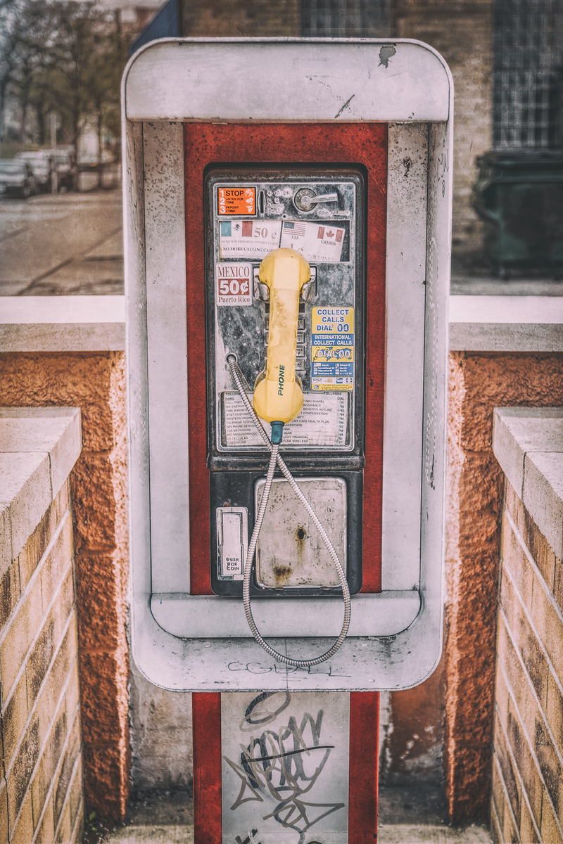 East Side Pay Phone