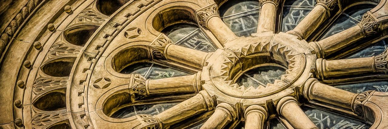 Romanesque Wheel