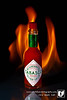 The king of hot sauce has to Tabasco Sauce.  The smokey flavors of the ages peppers make this a unique sauce that can't be beat.