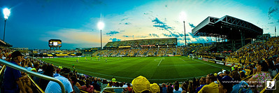 We took the boys up to Columbus this evening for a Columbus Crew match.  The Crew play Newcastle United from the United Kingdom. While the Crew lost the boys really enjoyed seeing a mtach up close.