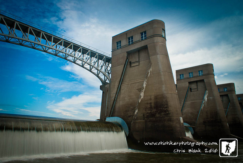 Day 6 of 365<br /> <br /> On my way back from Hungtington, WV today I stopped at the Robert C Byrd Locks and Dam.