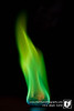 I found a green tiki torch at Walmart the other day. So I figured it would have an intriguing green flame.  I was right.