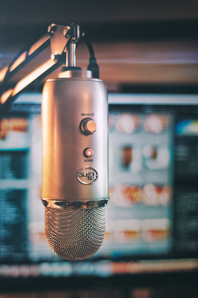 Blue Yeti Microphone mic check photograph