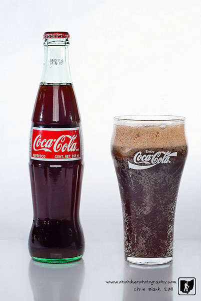 I saw this Coke bottle at the store the other day and had to grab it.  There is nothing like curves of a glass bottle.  They are so much more refined than the plastic bottles. I am not much of a pop drinker so the bottle will probably sit around for a while.  Who knows it may appear in another shot later on.