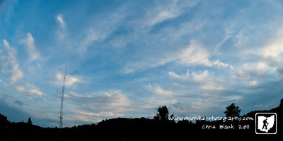 Day 313 of 365 - Wispy Clouds