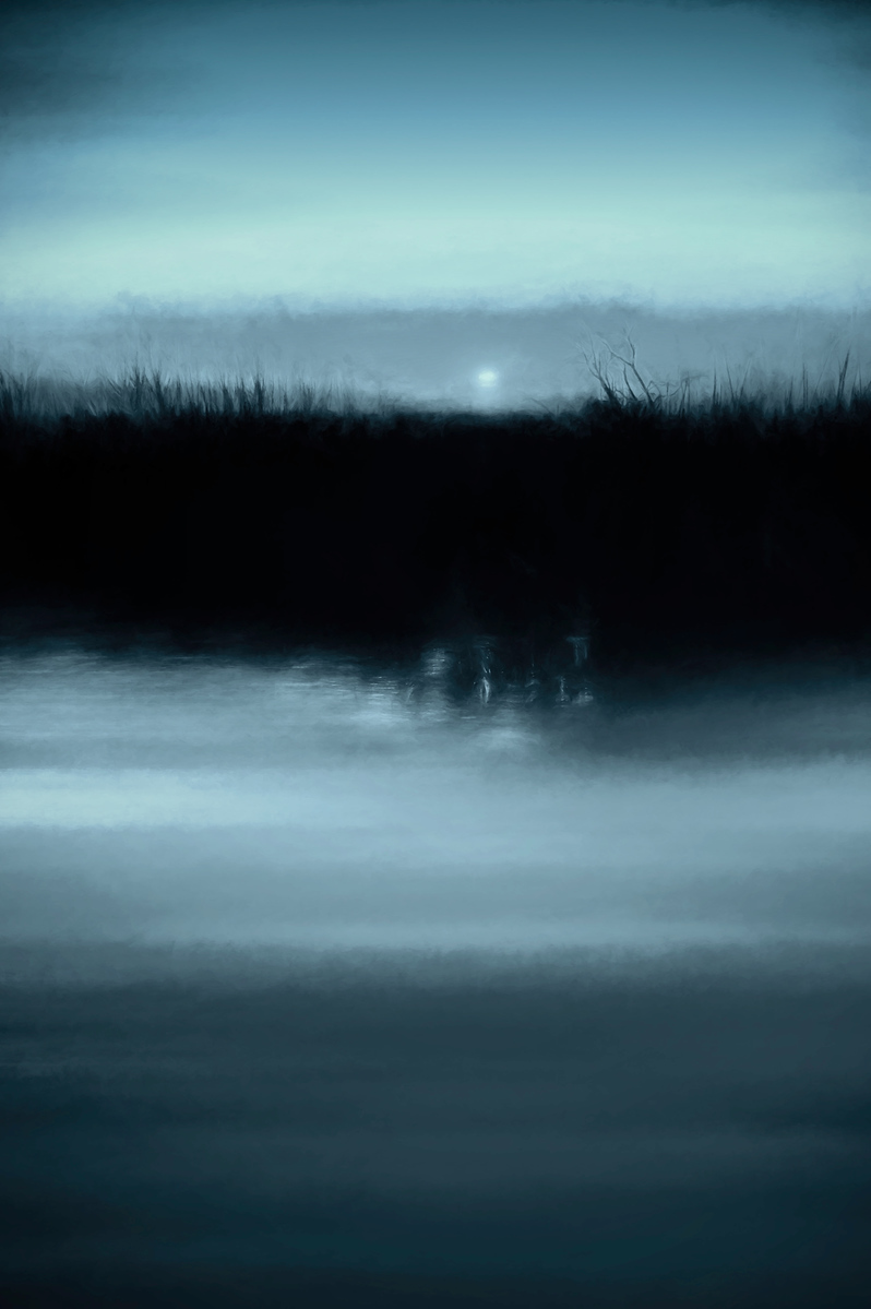 Moonrise on the Water