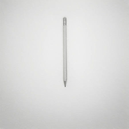 Pencil on a Blank Page