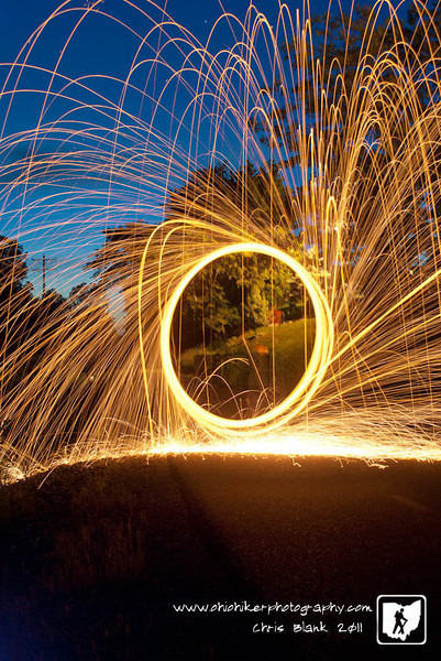Day 292 of 365 - Sparks Flying