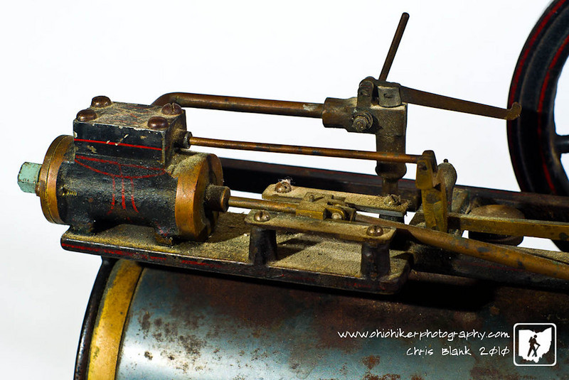 This is the cylinder and valve of my toy steam engine.  The steam engine still works and from what I can tell it is from the 1930's.  I am not sure if it is a Weeden Steam Engine or a Holly Overtype.  I love the craftsmanship of an item that was considered a toy.