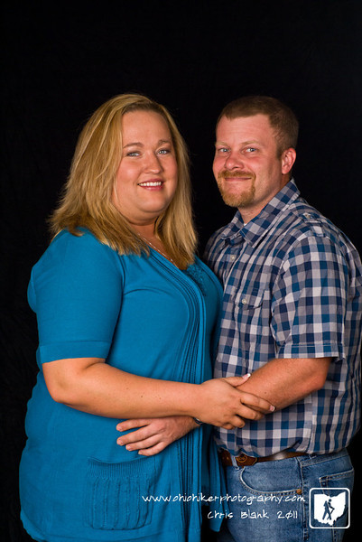 Stephanie and Ryan came over for their engagement session this evening.  Had a great time and looking forward to their wedding this fall.