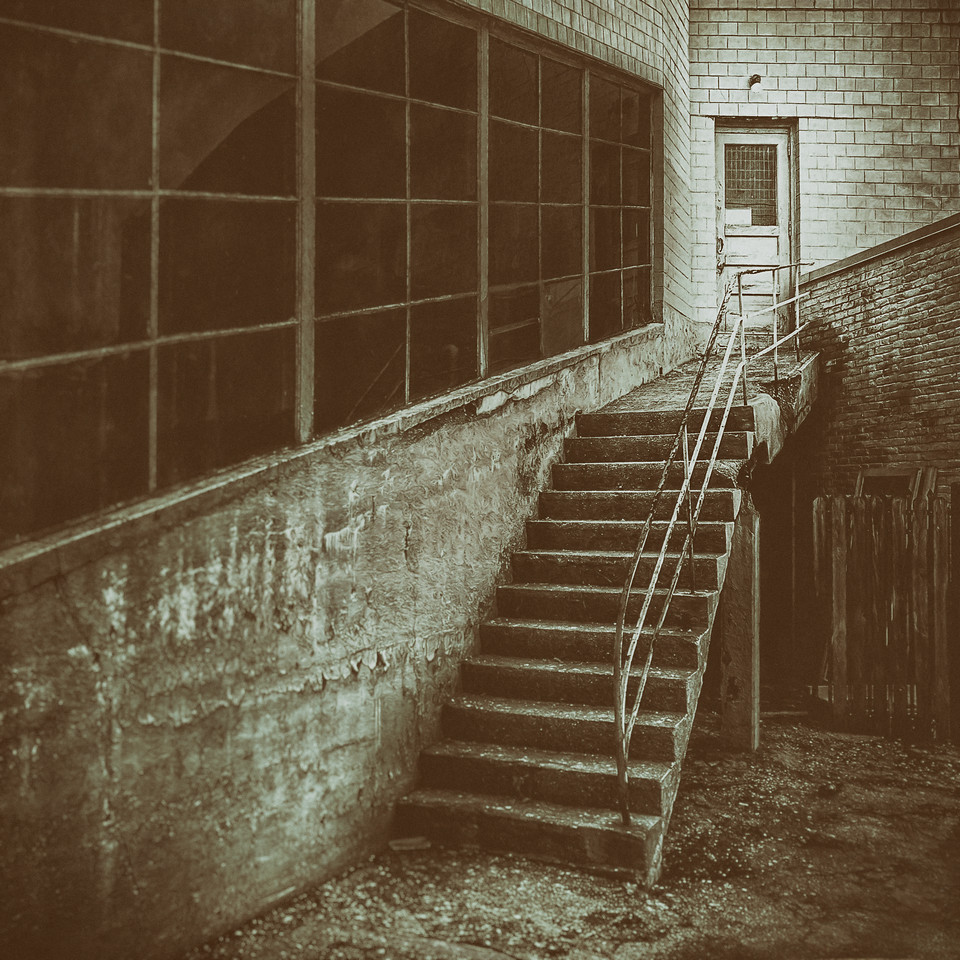 The Crumbling Concrete Stairs