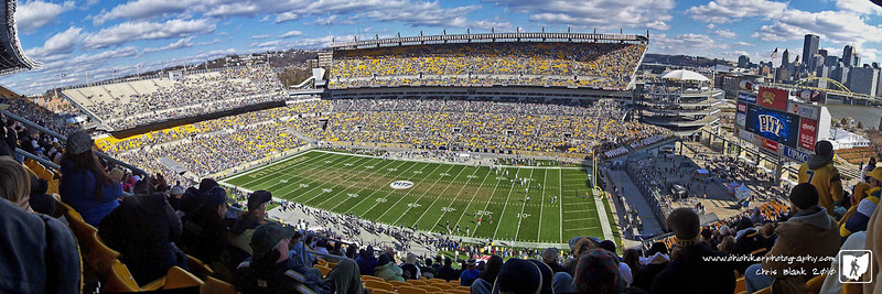Went to Heinz Field today for the backyard brawl.  WVU v Pitt.  I had a great time with Dad and the boys.