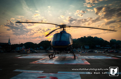 Day 323 of 365 - Sunrise at the Helipad.