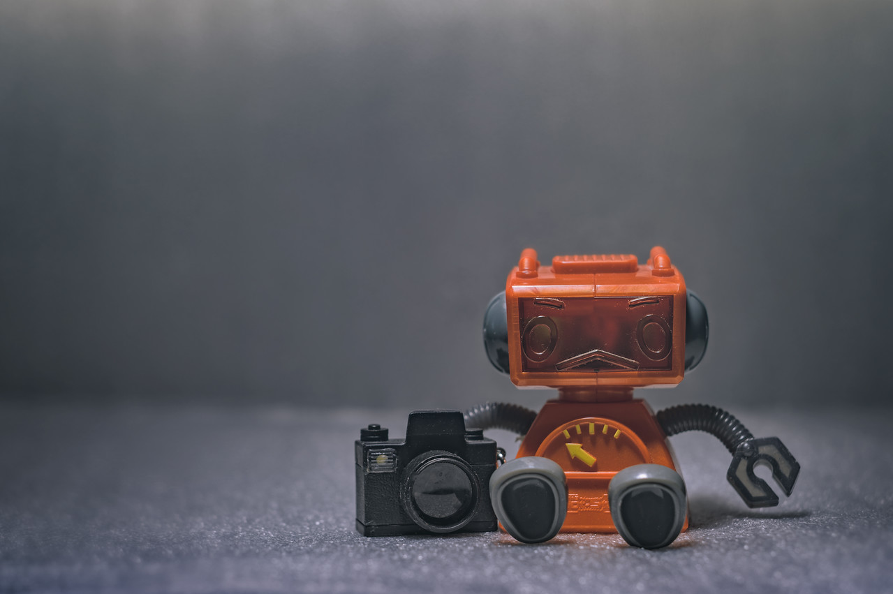 The Lonely Robot Photographer