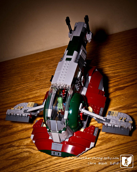 What happens when a 10 year old gets a Lego set with 573 pieces?  He puts it together by himself in about and hour.  Trevor got  Lego Slave I for Christmas.  It took him about an hour with very little help to put this together.  So much for me having to assemble all the Christmas toys.