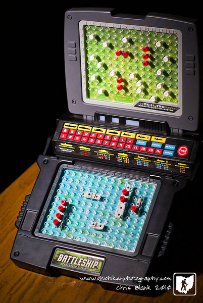 Another game photo.  I really like a good game of Battleship.   Somebody sunk my Battleship though.