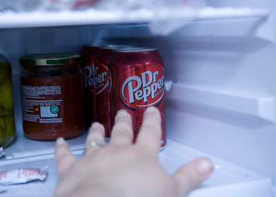 3/365 I couldn't think today....I'm going through withdrawal's from giving up caffeinated drinks for Lent....ohhhh I really want my Dr. Pepper :(