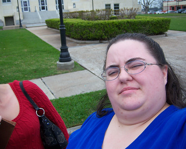 16/365 - 3/16/09 Kristy & Me in Anahuac, Texas
