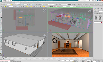 3Ds Max Architectural Modeling Work in Progress