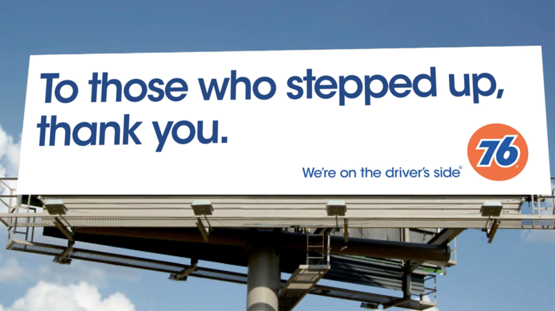 #GoodFuelsGood Out Of Home Billboards Support