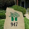 947 with tree logo