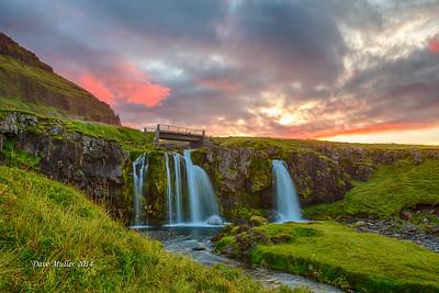 Magical Bridge, Snæfellsnes Peninsula, Iceland