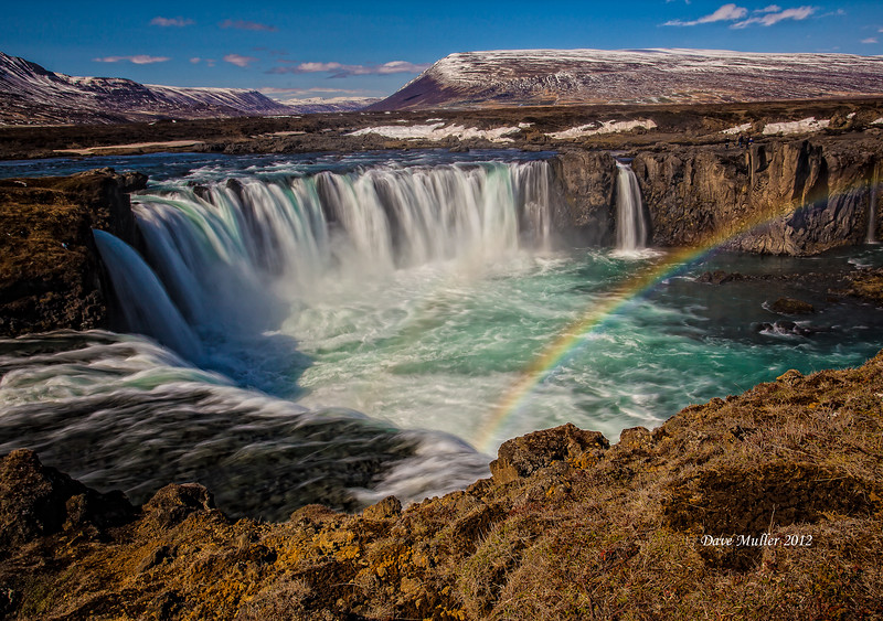 Rainbow at the Falls of the Gods