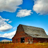 ~Big Sky~<br /> <br /> An old barn that has see better days and has survived many Montana Winter storms.