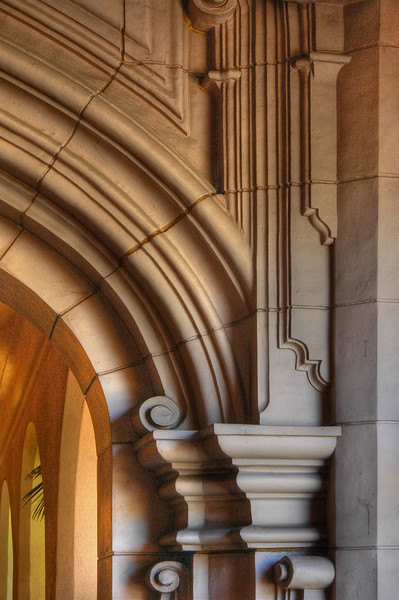 Architectural Detail San Diego Museum of Art
