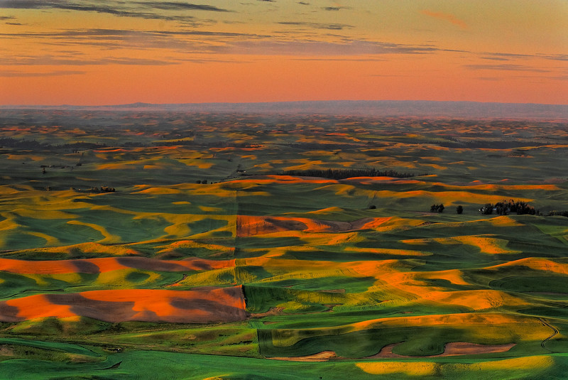 Dawn View From Steptoe Butte