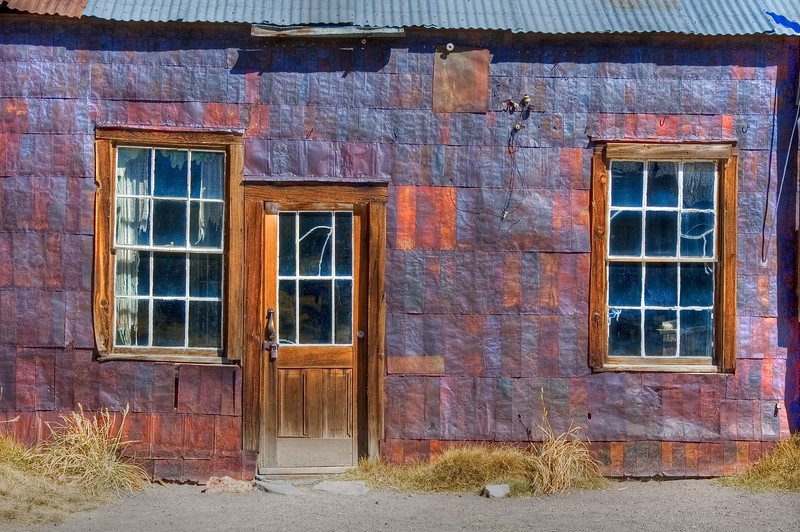 Bodie Rusted Siding