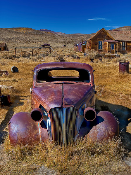 Bodie Rusted Car Reprocessed