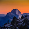 Half Dome From Olmsted Point--Less Processed