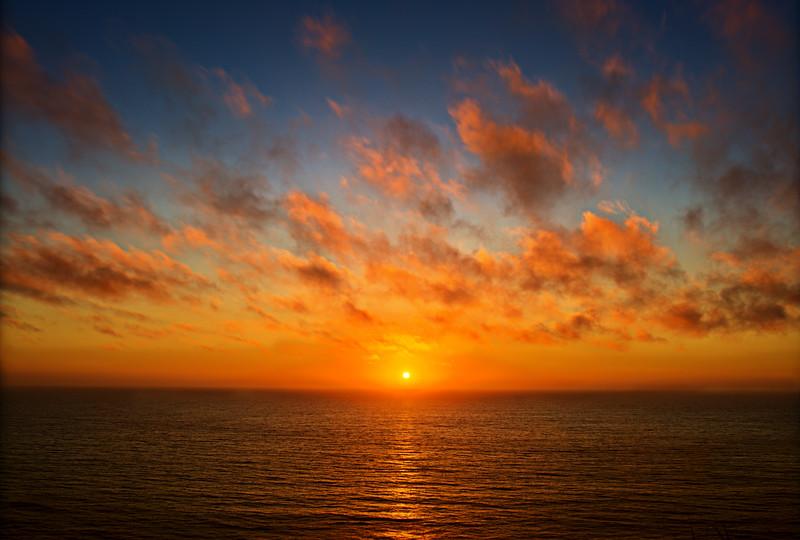 Half Moon Bay Sunset HDR