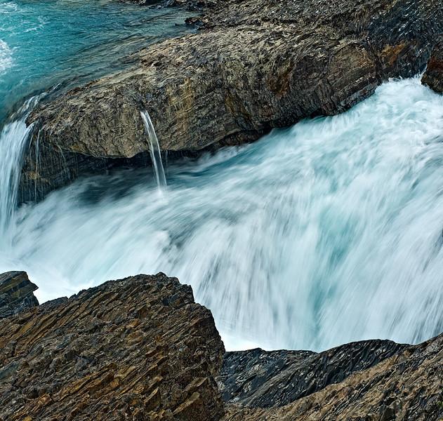 Bow River Waterfall CU