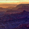 Grand Canyon Deep Sunset