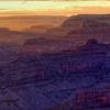 Grand Canyon Deep Sunset
